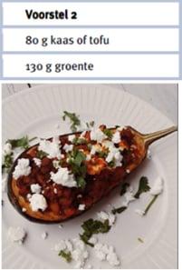 aubergine - voedingsschema