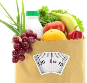 boodschappentas - voedingsschema