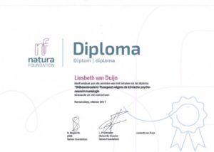 Liesbeth van Duijn, oprichter van Nederland Slank, dietist en orthomoleculair therapeut