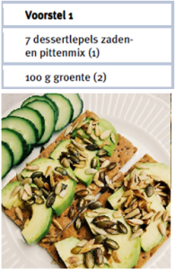 pittenmix - voedingsschema